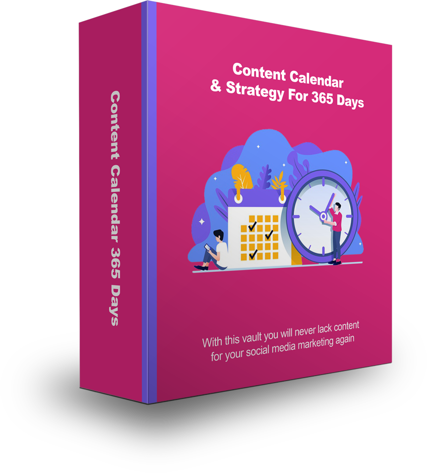Done-For-You Social Media Content Calendar & Strategy For 365 Days [Full Year]